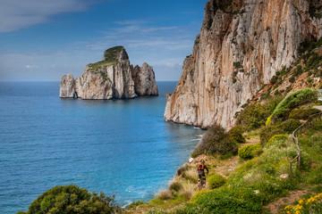 Sardinia between mountains and sea - Masua Beach and Pan di Zucchero