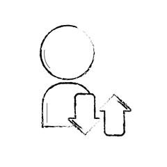 figure avatar user social man media