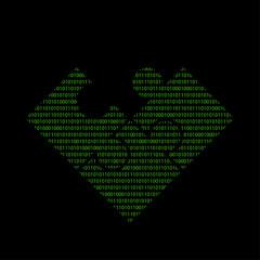 Hacker - 101011010 Icon - Puzzleteile