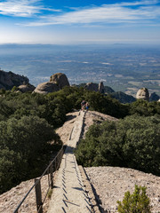 View from Montserrat mountain