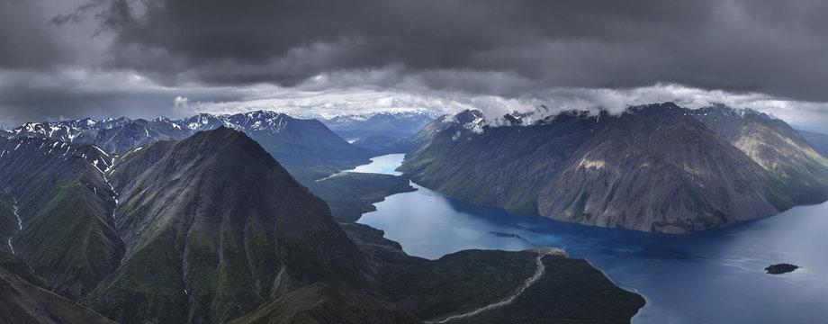 Kaskawulsh Glacier in Kluane National Park, Yukon, Canada