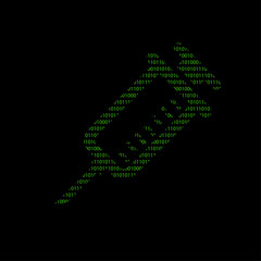 Hacker - 101011010 Icon - Spritze - Apotheke