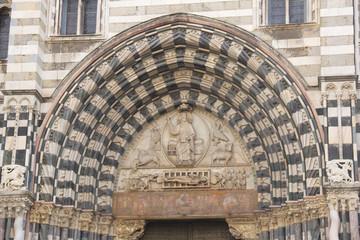 Particolare della Cattedrale di San Lorenzo di Genova