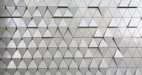 Triangular modern background