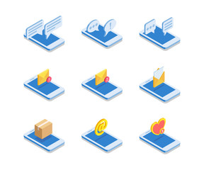 Simple Set of Web Icons.