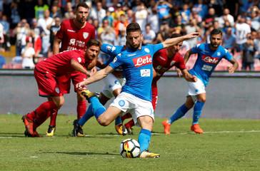Serie A - S.S.C. Napoli vs Cagliari Calcio