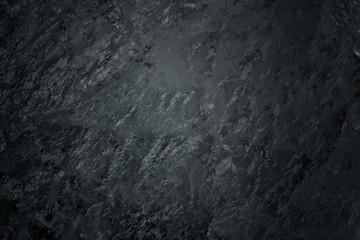 Black texture of mountain crystal. Macro photo.