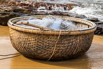 Vietnamese old fishing boat