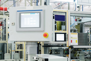 Auto Production Robot Control Screen