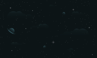 abstract starry sky picture