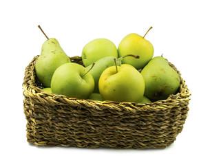 Frutero manzanas y peras ecológicas