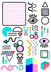 Cute design elements