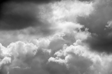clouds black and white background