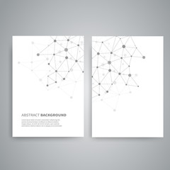 Vector templates for report cover