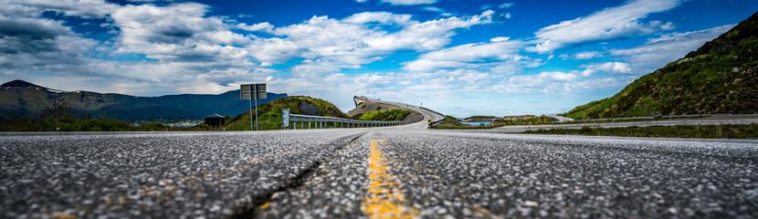 Panorama Atlantic Ocean Road Norway