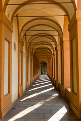 Bologna Portici Archway to San Luca