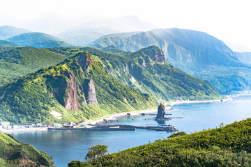 快晴の神威岬 / 北海道 積丹町