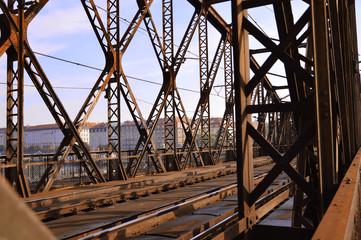 Iron Bridge in Prague