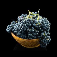 Cesta uvas tempranillo