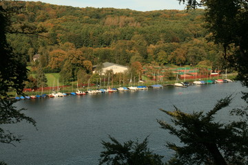 view to baldeney see, Essen, Germany