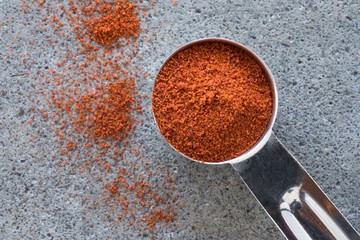 A teaspoon of ground cayenne pepper