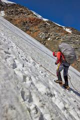 Foto op Aluminium Alpinisme Mountain climbers