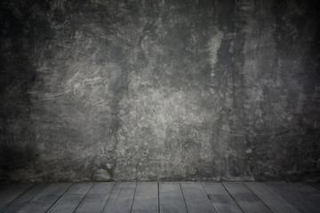 background cement wall scene, dark background