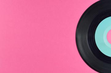 small vinyl disc