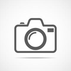 Camera icon. Vector illustration.