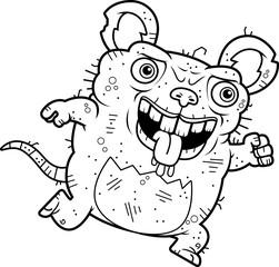 Ugly Rat Running