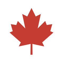 Canadian leaf icon