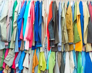 coloured pants