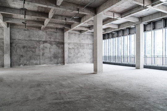 Empty buildings