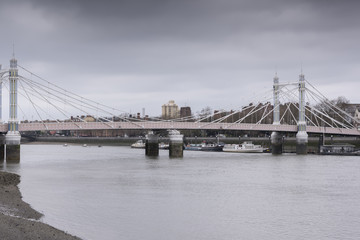 Albert Bridge, London, UK