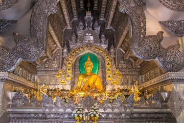 Papiers peints Imagination Wat Sri Suphan, the famous Silver Temple in Chiang Mai, Thailand