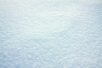abstract white blue background of snow