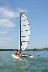 sailing during summer