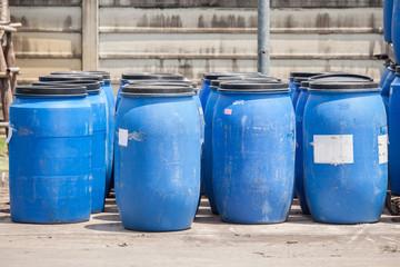 Plastic bucket with Big Blue,