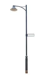 metal street lamppost