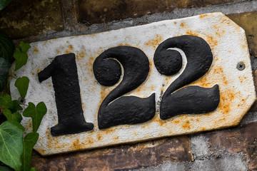 Hausnummer 122