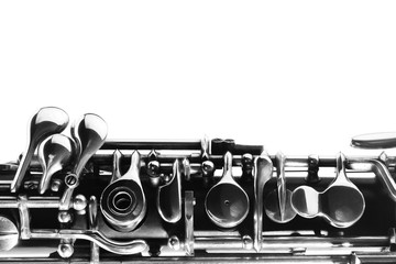 Poster Music Oboe woodwind music instrument of orchestra
