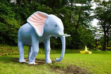 公園にある象さん