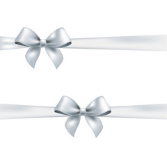 White Bow Set