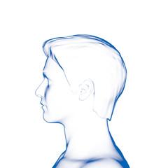 Human Head, Man