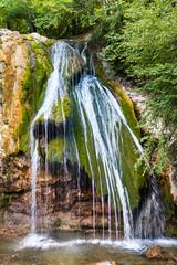 Djur-djur waterfall on Ulu-Uzen river in Crimea
