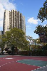 New York City Harlem Basketball Court USA