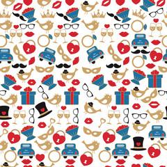 Wedding vector pattern