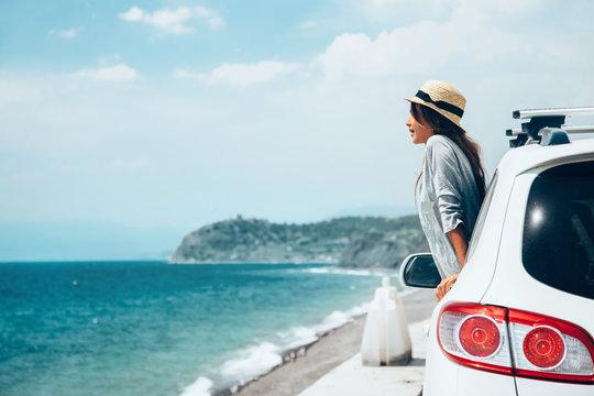Summer roadtrip to the beach