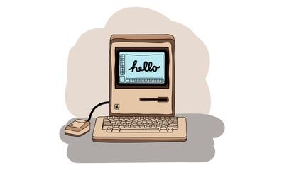 Retro Vintage Computer