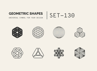 Set of universal minimal geometric